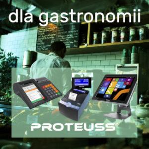kasy i zestawy POS dla gastronomii polecane przez Proteuss