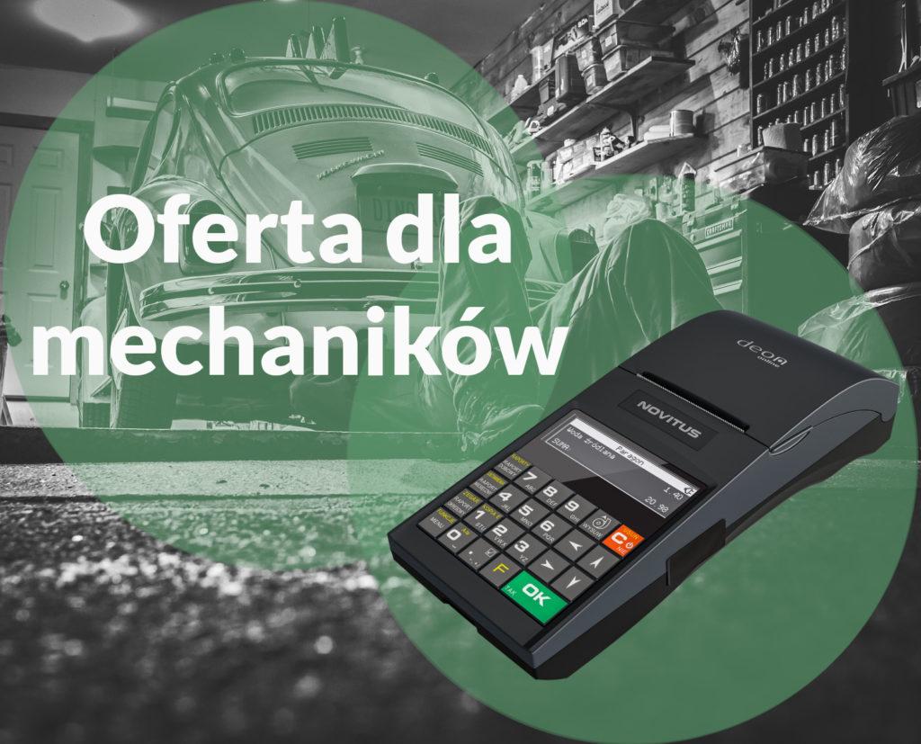 Proteuss kasy i drukarki fiskalne online dla mechaników, warsztatów samochodowych i wymiany opon oferta