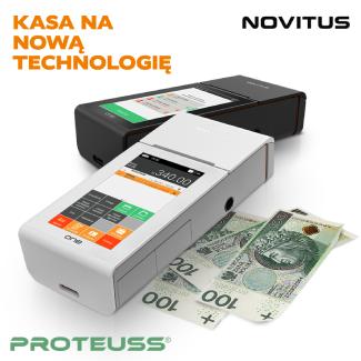 NOVITUS ONE – Kasa na nową technologię